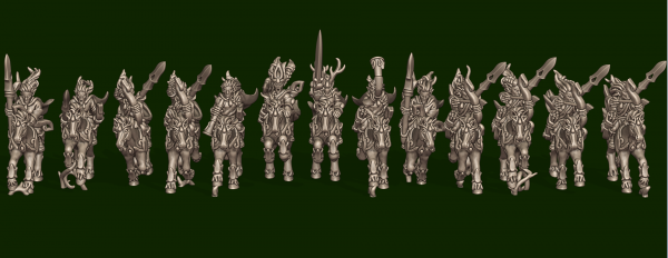 Elves of the Wood - Individual Light Cavalry Pack