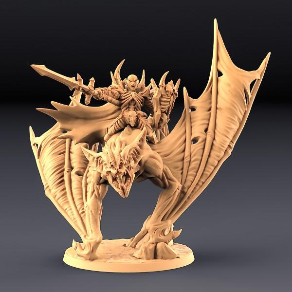 Drakenmir on Bloodhunter Dire Bat (variant 2)