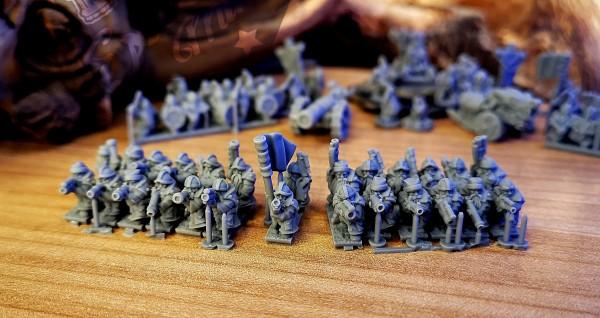 Dwarven Lords - Full Gunner Regiment