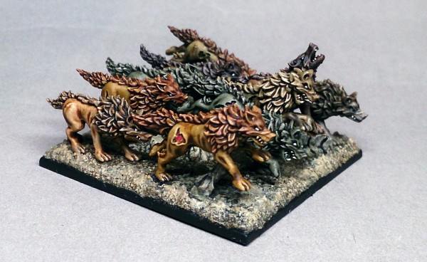 Vampire Lords - Dire Wolfs