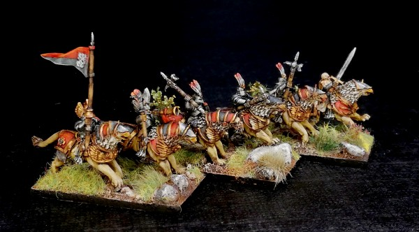 Empires of Man - Liongryph Knights