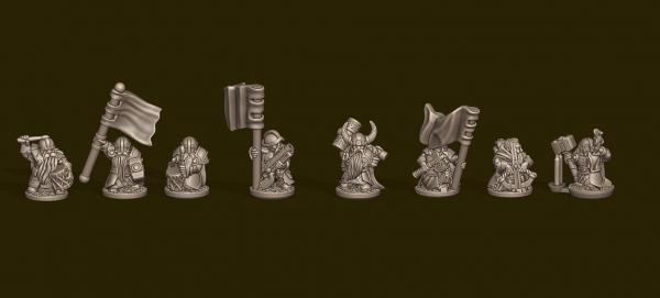 Dwarven Lords - Individual Alternative Commands