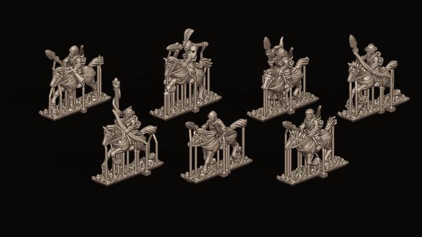 Empires of Man - Individual Light Cavalry 2 -FD