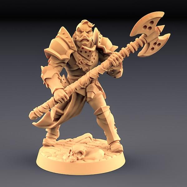 Human Fighter - B (Male)