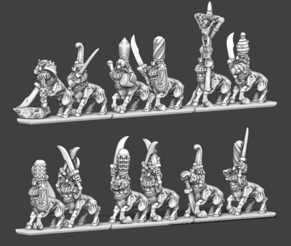 Chaos Dwarves - Bullzentaurs Regiment