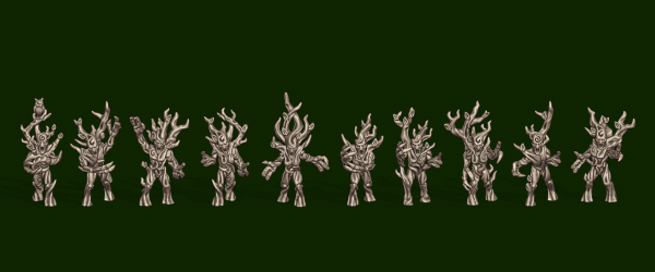 Elves of the Wood - Individual Forest Spirits Pack