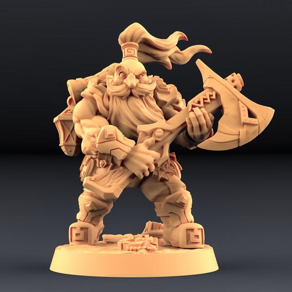 Dwarf - Oathbreaker - B