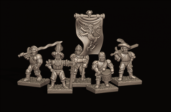 Empires of Man - Individual Greatsword Command Pack