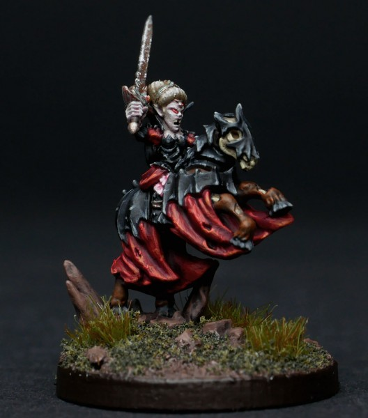 Vampire Lords - Lady on Horse