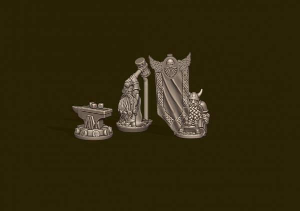 Dwarven Lords - Runesmith