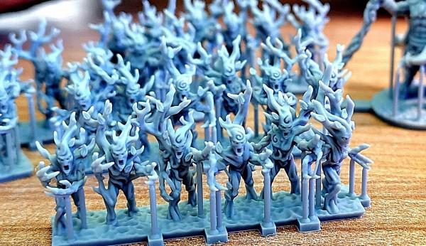 Elves of the Wood - Full Forest Spirits Regiment