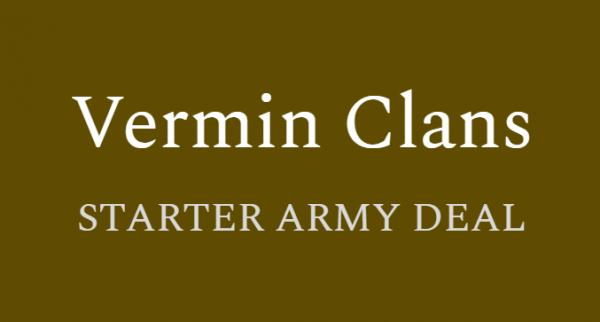 Vermin Clans - Starter Army Deal