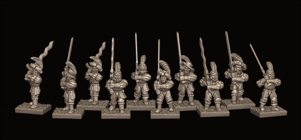 Empires of Man - Individual Greatsword Soldiers Pack