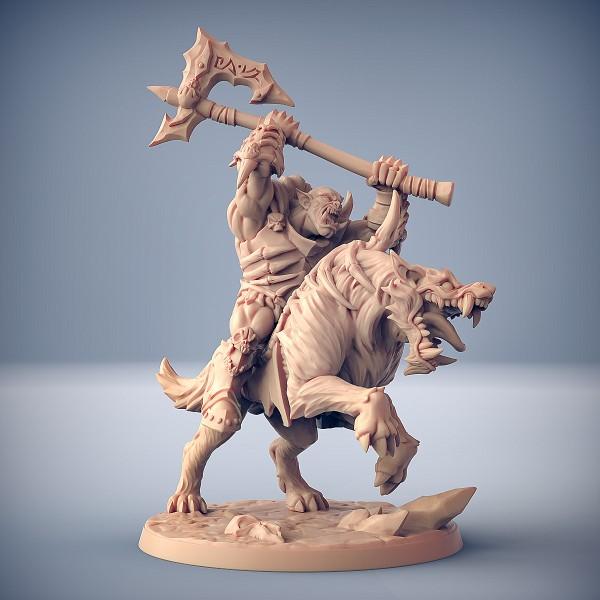 Worg Rider - A