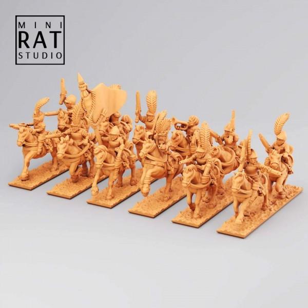 Empires of Man - Pistoliers Cavalry (MiniRat Style)