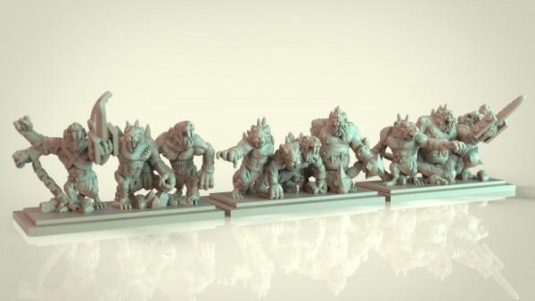 Vermin Clans - Full RatOgre Regiment