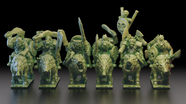 Orcs&Goblins - Orc Boarboys