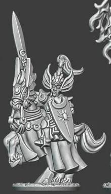 Noble Elves - General on Horse