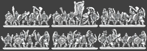 Chaos Dwarves - Hobgoblin Regiment