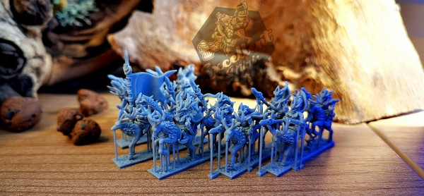 Elves of the Wood - Full Stag Rider Regiment