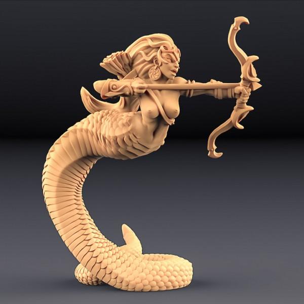 Snakewoman Archer - C