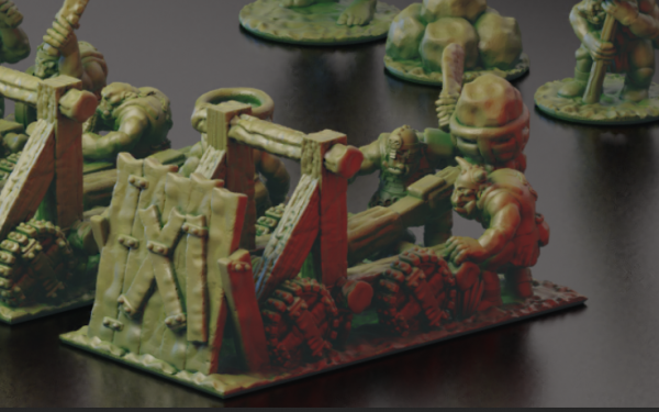 Orcs&Goblins - Orc Catapult 1