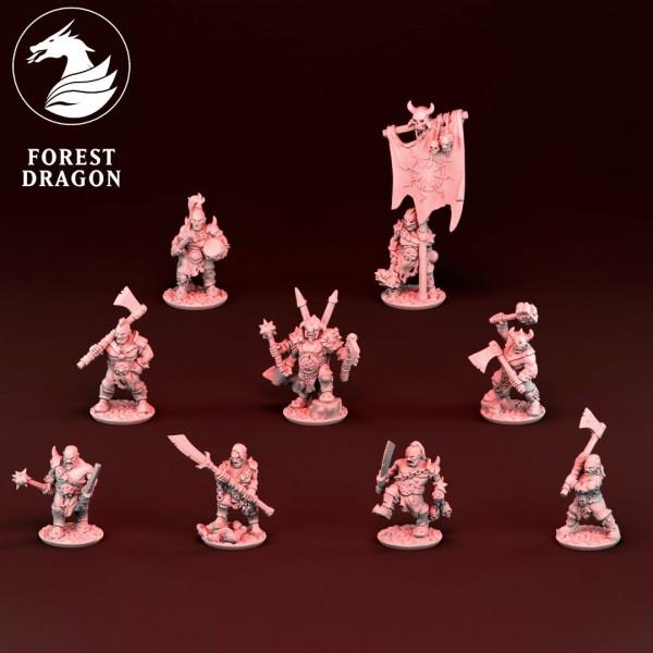 Dark Champions - Individual Corrupted Ogres