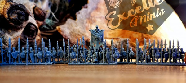 Vampire Counts - Skeleton Full Regiment 2
