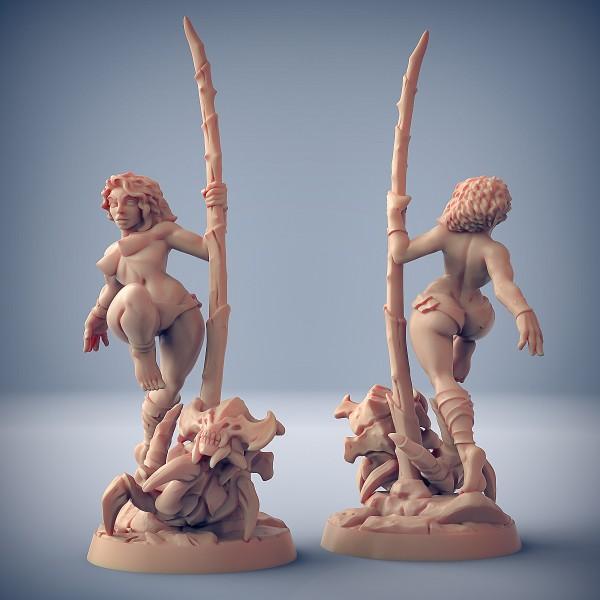Lara (Fantasy Pin-Up) (with breasts)