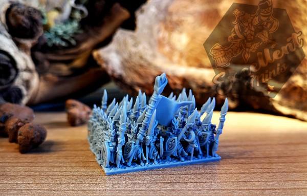 Elves of the Wood - Full Infantry Regiment 1 - Style B