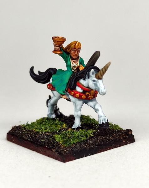 Empires of Man - Enchantress Hero on Horse