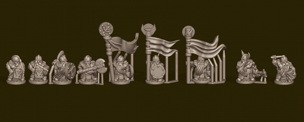 Dwarven Lords - Individual Warrior Commands