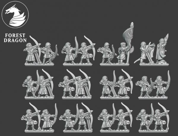 Empires of Man - Archers FD 2 (Sword Command)