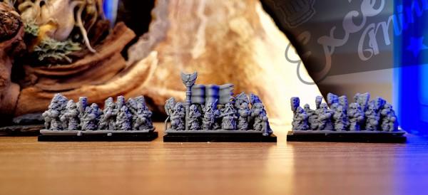 Dwarven Lords - Full Great Axe Elite Regiment 1 (wings)