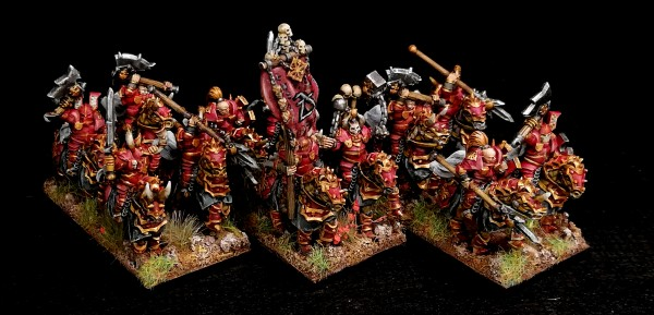 Dark Champions - Full Knights Regiment (God of Rage)