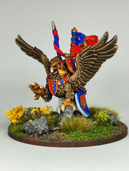 Empires of Man - King on Hippogryph FD