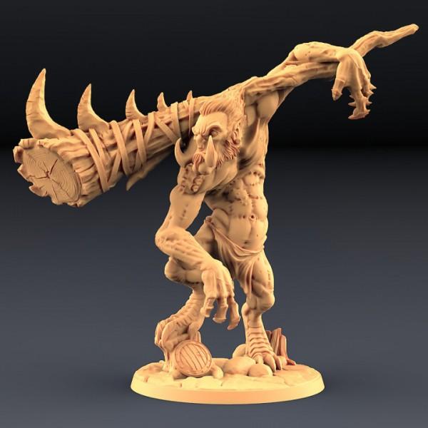 Gunlutt - The Troll Warrior