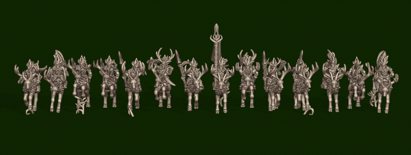 Elves of the Wood - Individual Stag Riders Pack