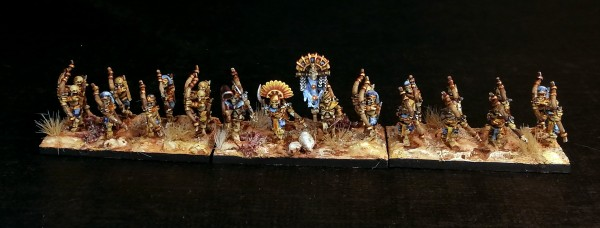 Desert Kings - Skeleton Full Archer Regiment 1