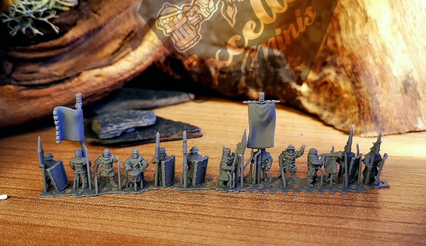 Empires of Man - Individual Men-at-Arms Command Pack