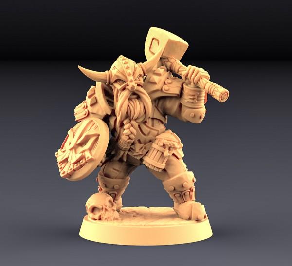 Dwarven Defender - B (Male)