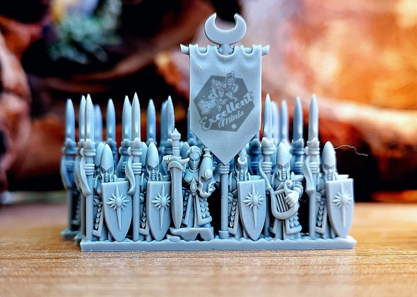 Noble Elves Command Group 2