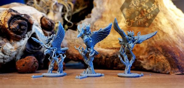 Elves of the Wood - Full Hawk Rider Regiment