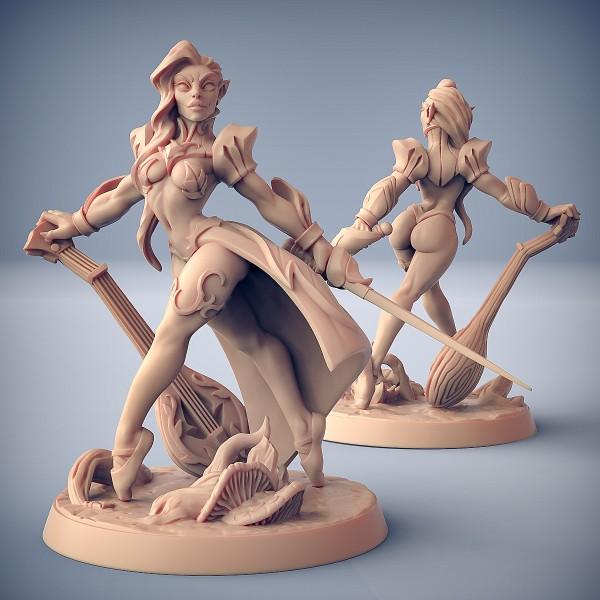 Kilia the Ballet Queen (Fantasy Pin-Up)