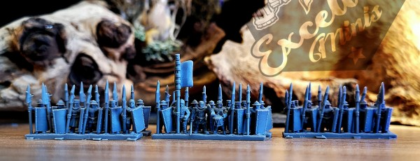 Empires of Man - Men-at-Arms with Halberd and Shield 2