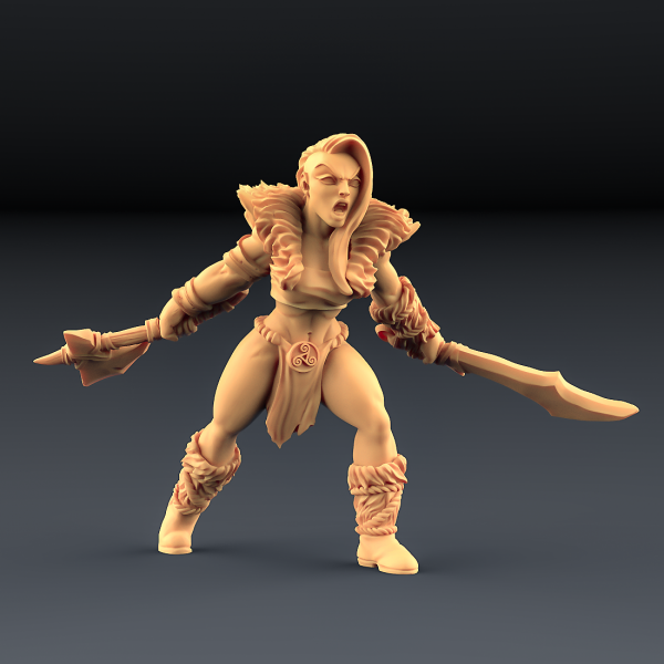 Barbarian Blademaster - C