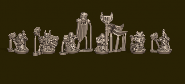 Dwarven Lords - Individual Heavy Warrior Commands