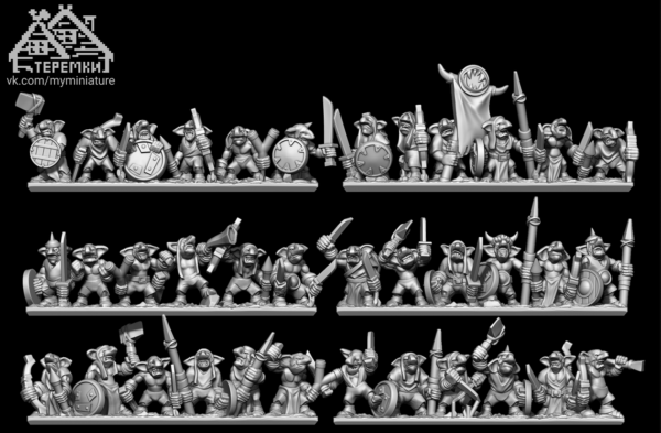 Ogre Tribes - Full Gnoblar Regiment