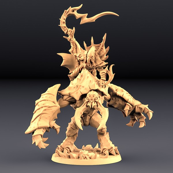 Slathos the Soulstealer on Hive Colossus - Depth One Mounted Hero