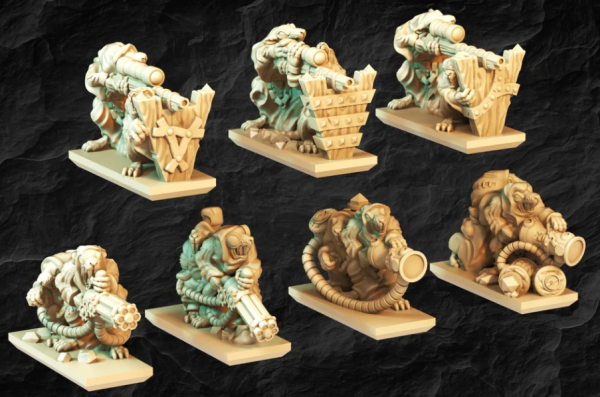 Vermin Clans - Full Special Weapons Team